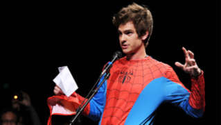 Andrew Garfield Jimmy Kimmel Spider-Man 2016