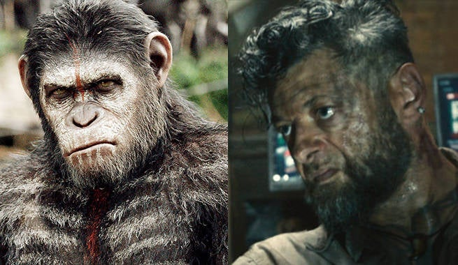 Exclusive: Planet of the Apes Goes Beyond Caesar, But Not Andy Serkis