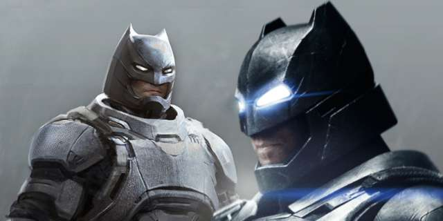 Batman v Superman Concept Art Featuring Mech Batsuit