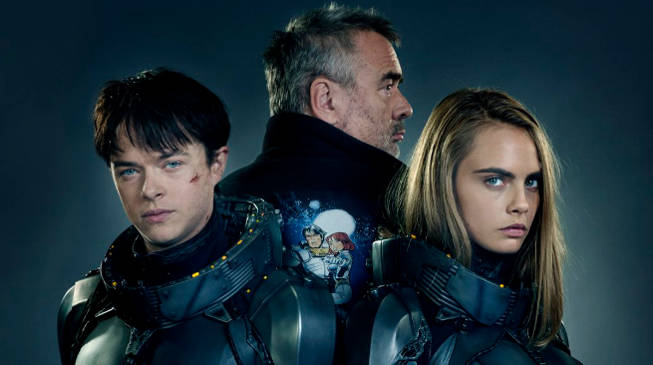 Dane Dehaan and Cara Delevingne in Luc Besson's Valerian and the City of A Thousand Planets