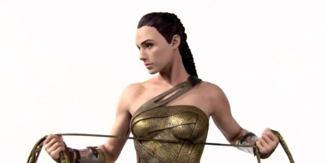 DC Collectibles - Wonder Woman and Steve Trevor Movie Statues [HD] screen capture