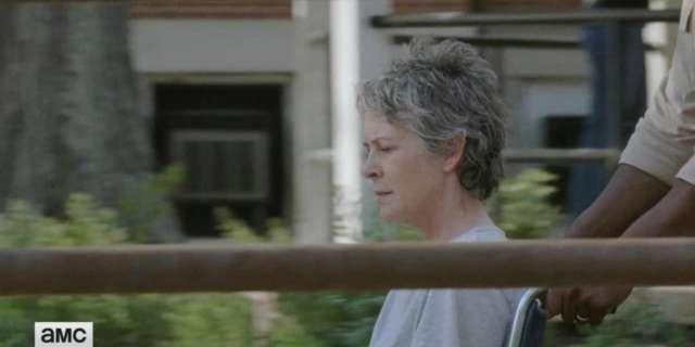 EXCLUSIVE: The Walking Dead Season 7 Episode 2 Clip Featuring Morgan & Carol screen capture