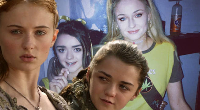 Game Of Thrones: Maisie Williams, Sophie Turner Reveal Matching Halloween Costumes