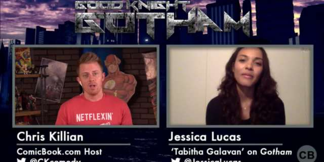 Good Knight Gotham Exclusive Interview with Jessica Lucas screen capture
