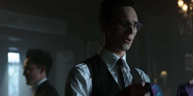 Gotham (Season 3, Ep. 7) - Penguin Inquires About Nygma's Date [HD] screen capture