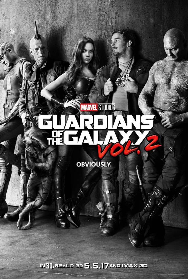 Guardians of the Galaxy Vol. 2 movie poster image