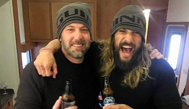 Justice League Wrap Party Photos Released By Jason Momoa
