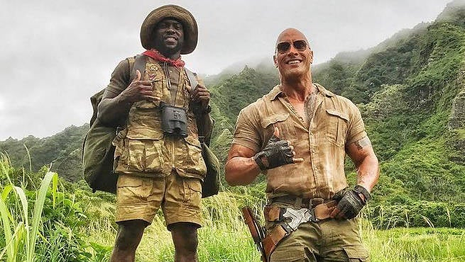 'Jumanji: Welcome to the Jungle' Leading MLK Weekend Box Office Totals