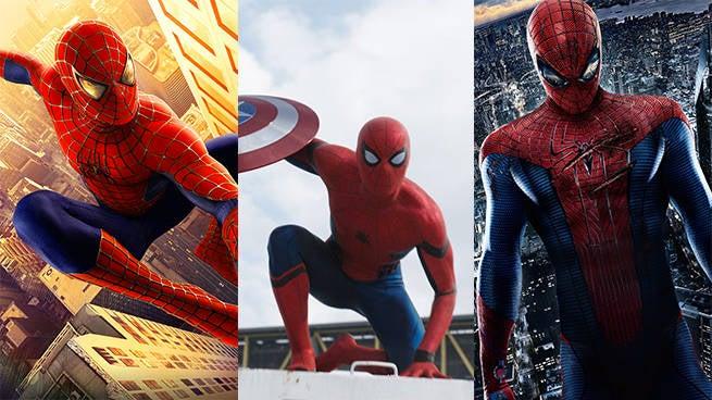 live action spider-man