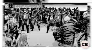 Major Issues: First Appearance of Negan screen capture