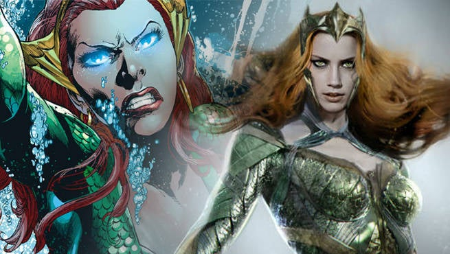 Amber Heard Is Researching Her Aquaman Role The Right Way