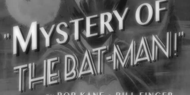 Mystery Of The Batman