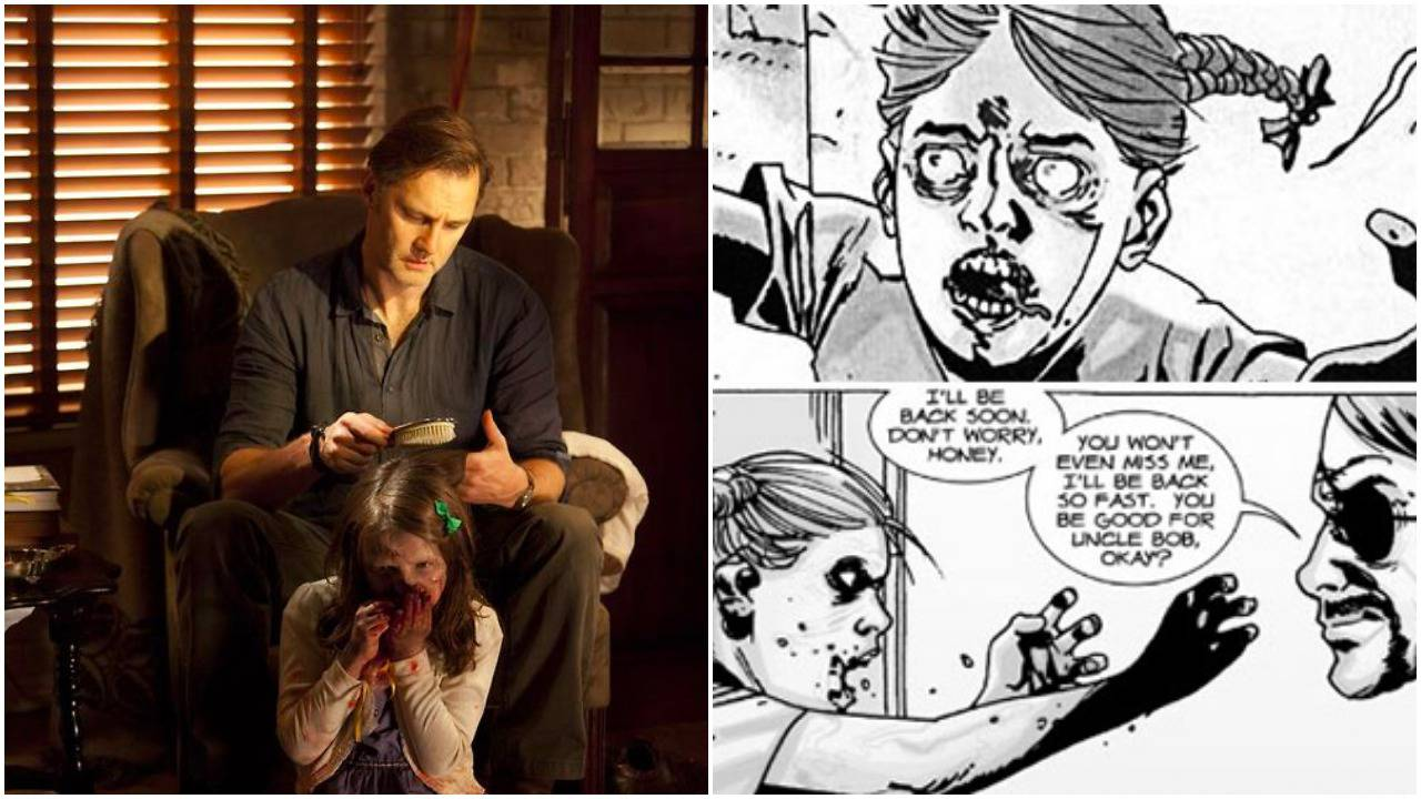 the walking dead 5 things that happened just like the comics