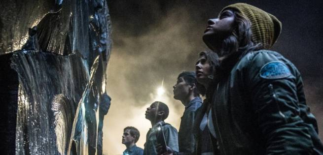 Power Rangers Awestruck In New Movie Still