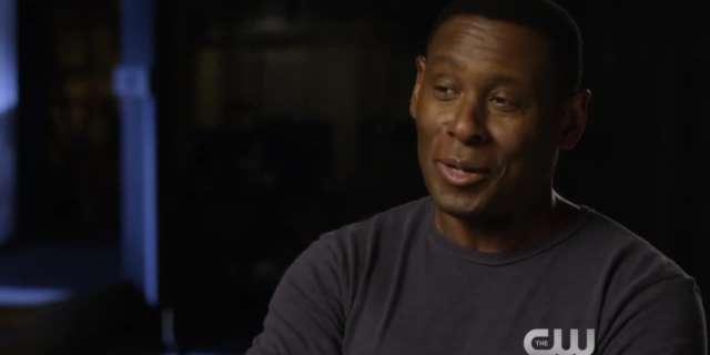 Supergirl (Season 2) - David Harewood Interview - The CW [HD] screen capture
