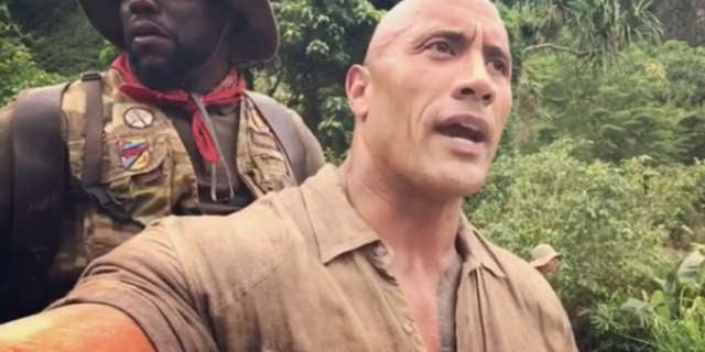 The Rock Carries Kevin Hart In New Jumanji Video