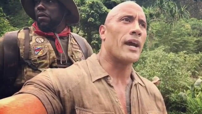 Dwayne 'The Rock' Johnson Slams 'Jumanji: Welcome to the Jungle' Critic on Twitter