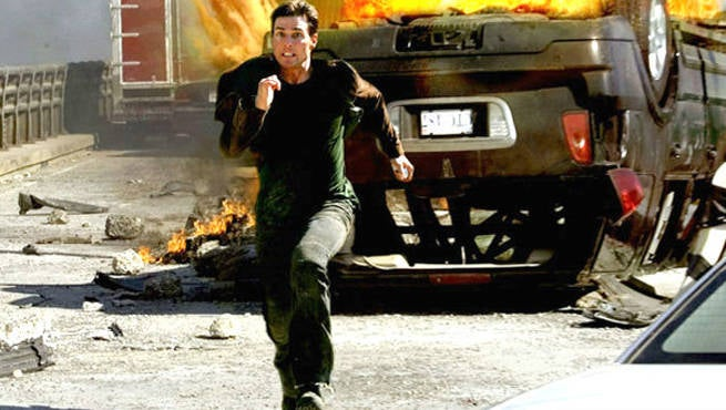 Tom Cruise Compilation Shows He Never Stops Running