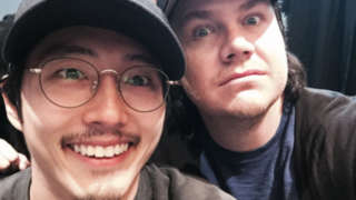 Walking Dead Josh McDermitt Tribute Steven Yeun