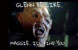 Sloth Goonies Meme Glenn Walking Dead