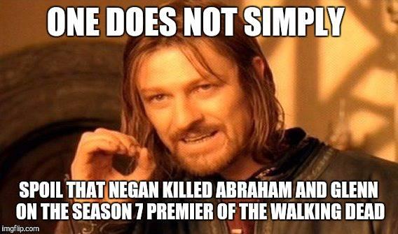 walking dead season 7 premiere memes paradise of the lost via tu 207167 the walking dead season 7 premiere best meme reactions