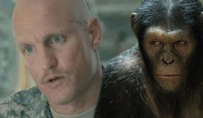 Exclusive: Details on Woody Harrelson's Villainous War of the Planet of the Apes Role