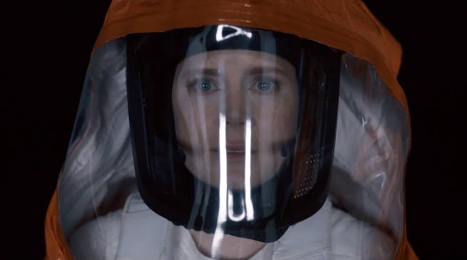 Amy Adams in Arrival Movie (2016)