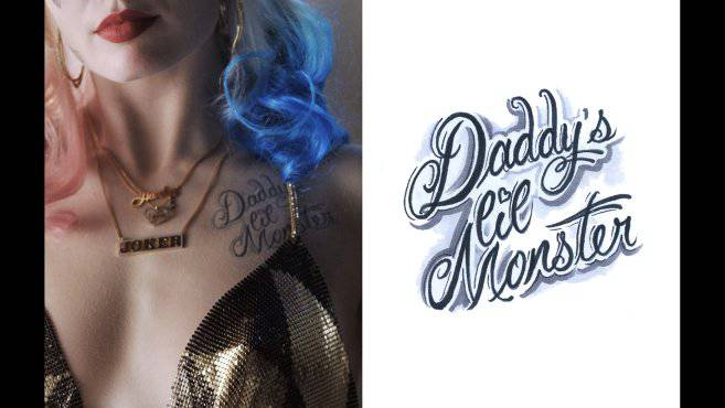 get up close and personal with harley quinn 39 s tattoos