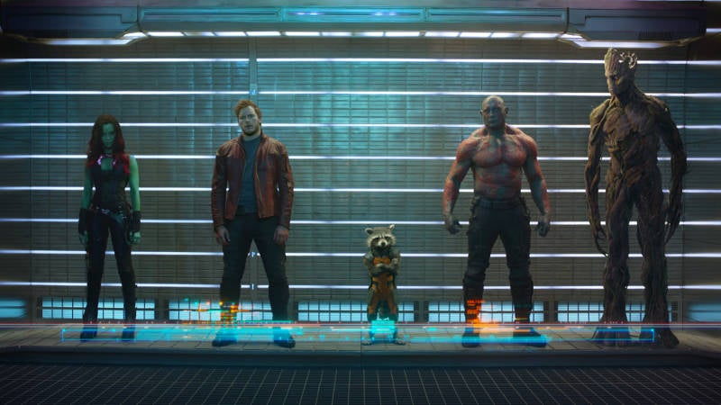 Best Marvel Cinematic Universe Movies - Guardians of the Galaxy