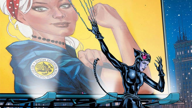 Catwoman Election Night 1 Header