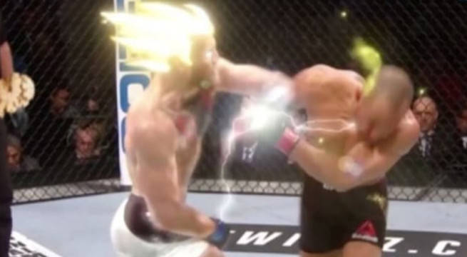 This GIF Of Conor McGregor Going Super-Saiyan Is The Best