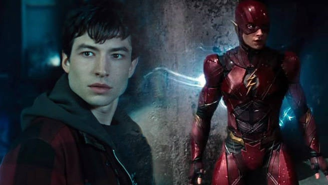Ezra Miller Describes Wearing The Flash Costume For The First Time