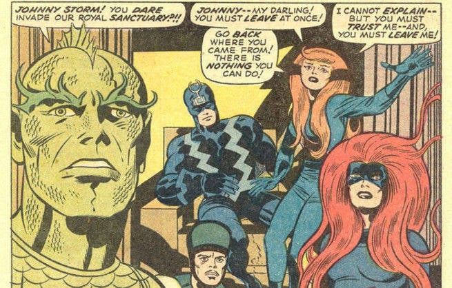 Inhumans - Jack Kirby