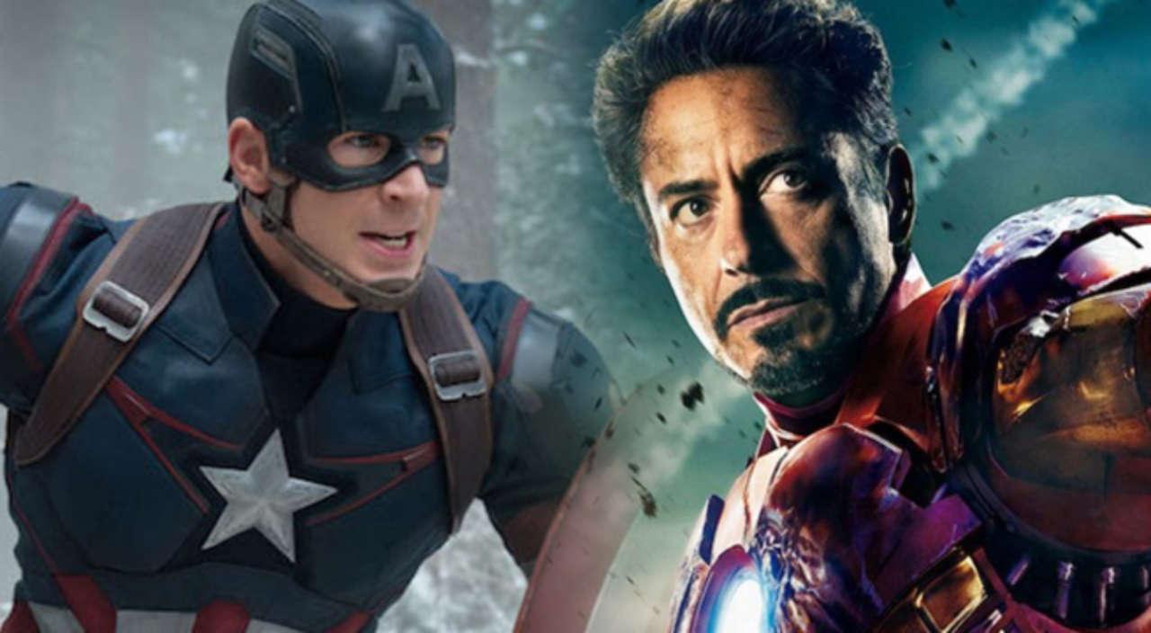 Captain America Vs Iron Man Avengers