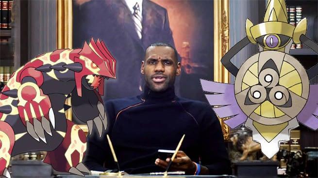 Celebrity PokePals: Picking LeBron James's Pokemon Team