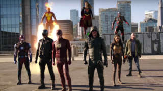 Legends of Tomorrow Invasion Crossover - DC TV Justice League Assembled