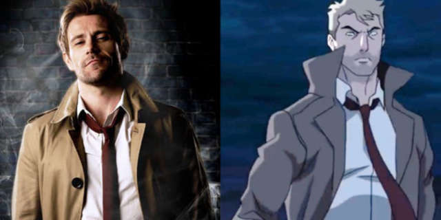 Matt Ryan Constantine Animated vs Live Action