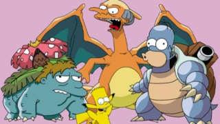 pokemon simpsons mashup