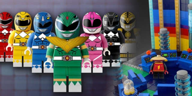 Power Rangers LEGO Ideas Set 2