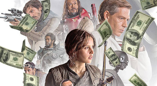 Image result for rogue one money