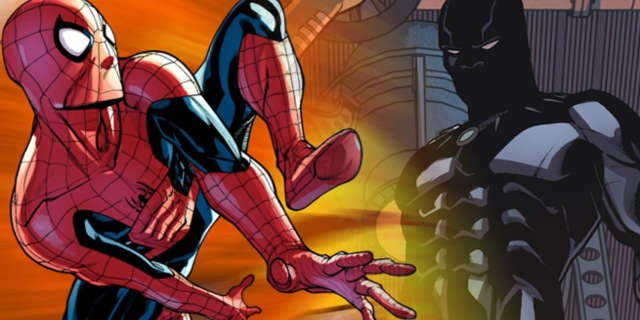 SpiderMan Black Panther video comics