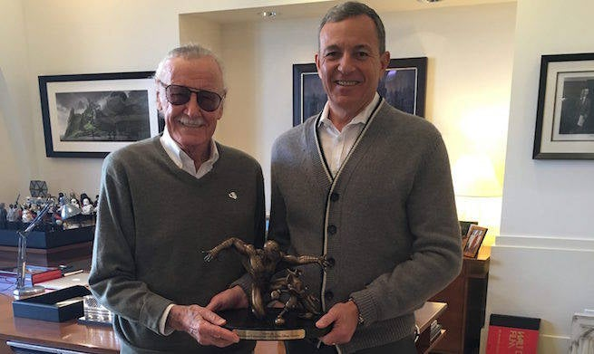 Disney Recognizes Stan Lee For His 75 Years At Marvel