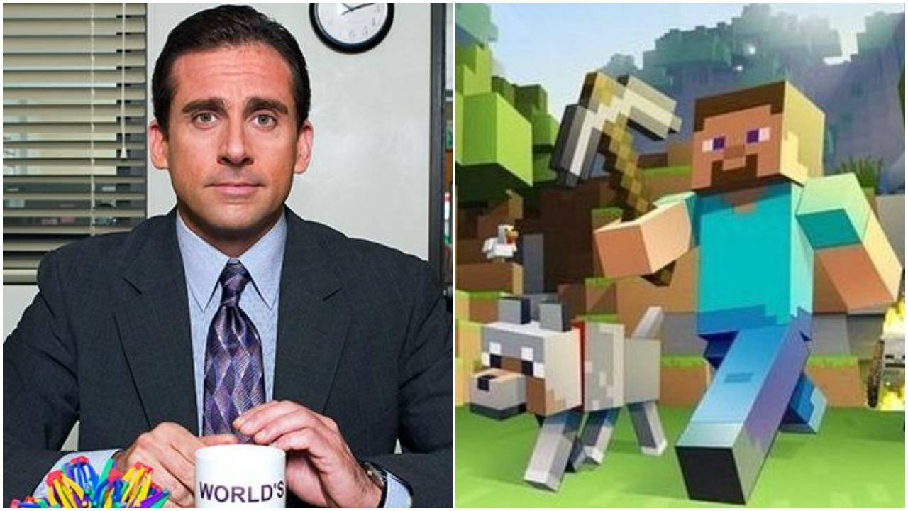 Steve Carell Set To Star In Minecraft Movie