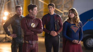 The Flash Season 3 Ratings Invasion Heroes vs Aliens Crossover