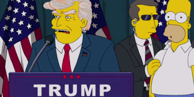 The Simpsons Predicted Trump President in 2000