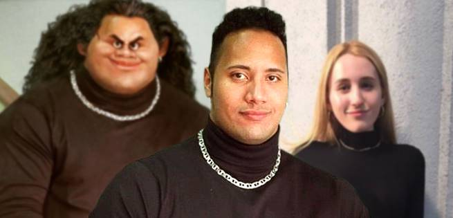 Who Wore The Rock's Fanny Pack Better: Maui Or Kevin Smith's Daughter?
