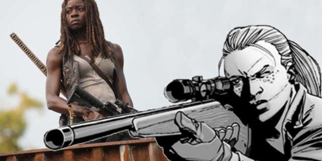 TWD Michonne Andrea