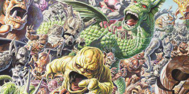 2017 Comics - Monsters Unleashed 1