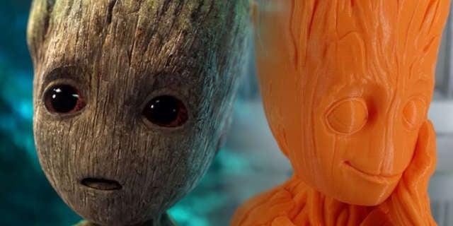 3D-Baby-Groot