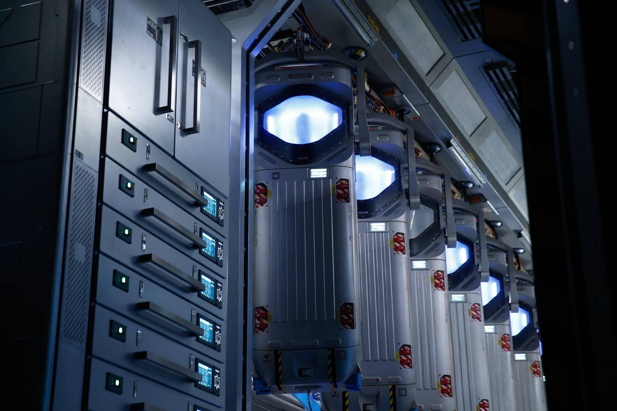 Alien Covenant Teaser Image Hybernation Pods